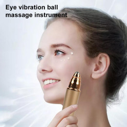 Eye vibration massager