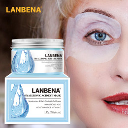 LANBENA Eye Serum Patches Reduces Dark Circles Bags and Eye Lines Repair Skin