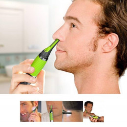 Eyebrow and nose trimmer
