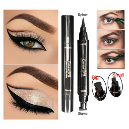 Double Head Liquid Eyeliner Seal Eyeliner Stamp Pencil