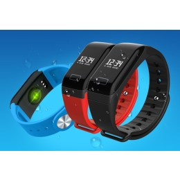 F1 Smart Bracelet Blood Pressure Activity Fitness Tracker