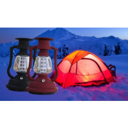 Outdoor 16 LED Light solar Camping Lantern