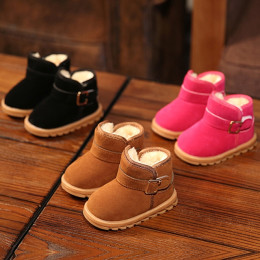 Fashion cotton shoes non-slip warm Kids snow boots