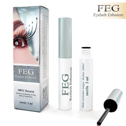 FEG enhancer for eyelashes