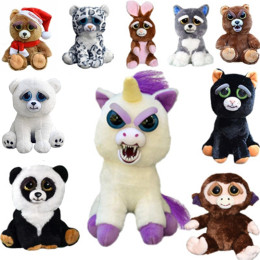 Change Face Feisty Pets Plush Toys
