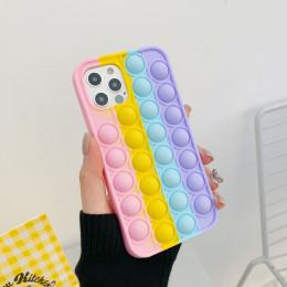 Fashion Rainbow Silicone Phone Case