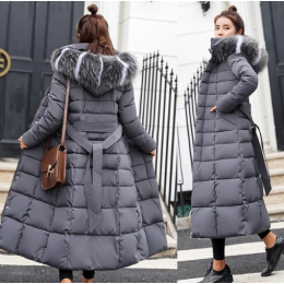 Women Parkas Slim Fashion Winter Jacket Female Down Cotton Padded Coat