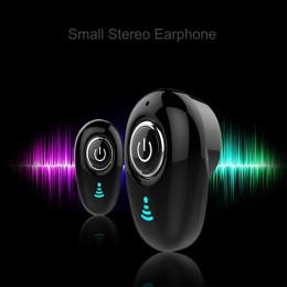 Mini wireless headset S650 bluetooth earphone ear headphone
