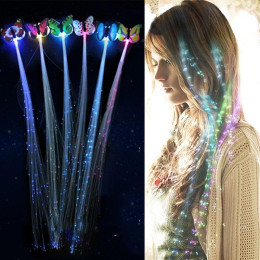 LED Flashing Hair Braid Glowing Luminescent Hairpin