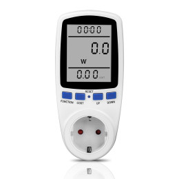 EU Digital Wattmeter Power Meter