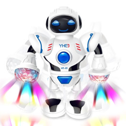 Music Robot Cool Dance LED Robot Toy
