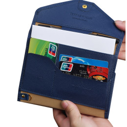Tri-Fold Passport Travel Organisers