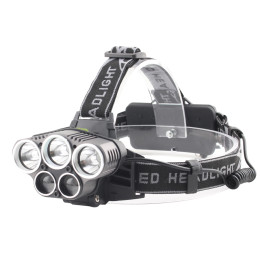 5 LED Headlamp Headlight lamps Waterproof Head light