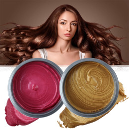 Colors Disposable Temporary Hair Dye Mud