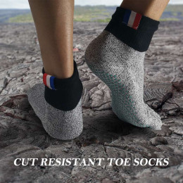 Unisex Cut Resistant Five Toe Socks Comfortable Non Slip Stockings Barefoot Socks