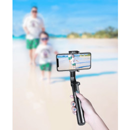 Mobile phone stabilizer Bluetooth selfie stick bracket