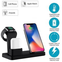 3 in 1 Wireless Charging Dock Charging Station