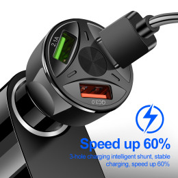 Quick Charge 3.0 USB Car Charger