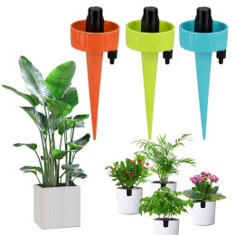 New Self Watering dripper Adjustable Stakes System
