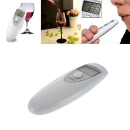 Portable Single Display Screen Pocket Digital Alcohol Breath Tester