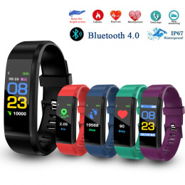 ID115 Plus Color Screen eart Rate Monitor Smart Wristband