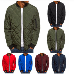 Men's Solid Color Casual Jacket Men Pilots Jacket