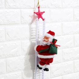 Electric Climbing Ladder Santa