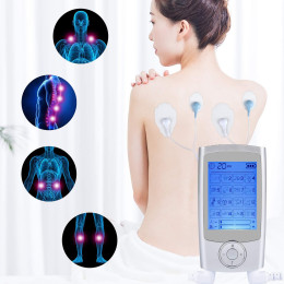 Acupuncture Therapy Electronic Pulse Back Neck Muscle Stress Pain Relief Massager