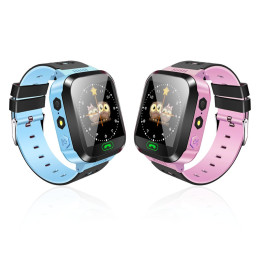 Y21S Flashlight Kids Safe Smart Watch with Camera Touch Screen