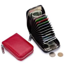 RFID Card Holder Real Leather CardHolder