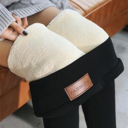 women warm winter skinny thick velvet fleece girls leggings
