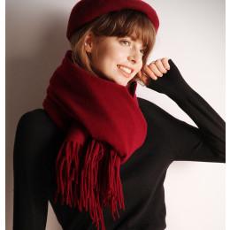Women Cashmere Scarf Warm Shawl Foulard  Kerchief Wool Stole