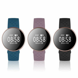 Smartwatch with OLED display and many practical features - available in 3 colors