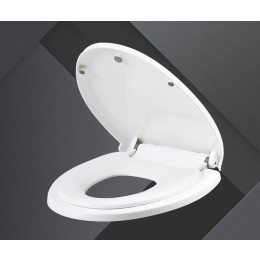 3-in-1 family-friendly toilet seat for children and adults