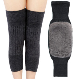 Warm knee pads