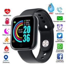 Y68 Waterproof Bluetooth Sport SmartWatch