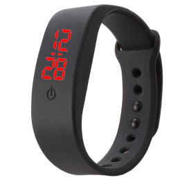 Silicone LED Watch Sports Digital Wrist Watch