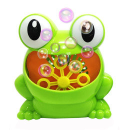 Cute Frog Automatic Bubble Machine Blower Maker