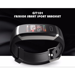 GT101 Fitness Tracker Sleep Monitor Heart Rate Monitor Smart Bracelet