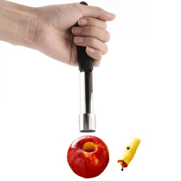 Stainless Easy Steel Twist Fruit Core Seed Remover Tools