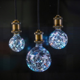 LED Copper Wire Lamp Bulb Fairy Light Festivals Party Lighting