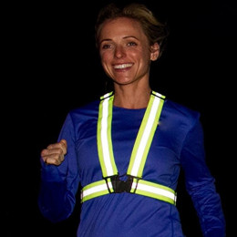 Unisex Safety Visibility Night Reflective Vest
