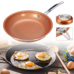 10 inchs Non-stick Skillet Copper Ceramic Skillet Frying pan