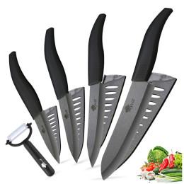 Ceramic knife set chef's kitchen knives