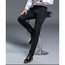 Men's Slim Fit Casual Stretch Suit trousers