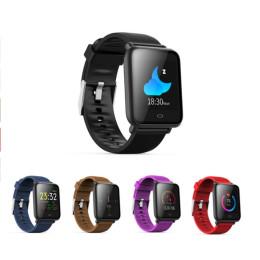 Q9 Smart Watch Blood Pressure Heart Rate Sleep Monitor Bracelet  - q9-wath-nt-r