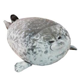 Cute seal Plush Toys 3D Novelty Throw plush Pillows