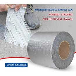 Waterproof Cloth Aluminum Foil Duck Duct Self Butyl Adhesive Seal Repair Tape