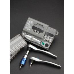 Portable Mini Ratchet Wrench Screwdrivers Set