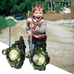 Camouflage Military Watch Wireless Walkie-Talkie Outdoor Children Walkie-Talkie Toy